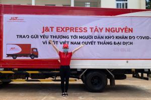 Tấm lòng và nghĩa cử cao đẹp của nhân viên J&T Express