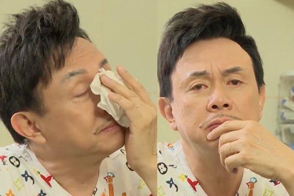 Ngọc Lan khóc khi nói về Chí Tài: 'Anh Tài không bao giờ khóc, nhưng có thể rơi nước mắt vì quá nhớ vợ'